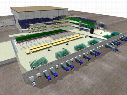 Эскизно-технологическое проектирование склада. Опыт и рекомендации - Полное объемно-планировочное решение
